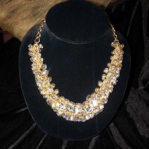 A beautiful bold statement necklace